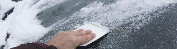 Kjenner du til konsekvensene av å ikke fjerne snø og is fra bilruten?